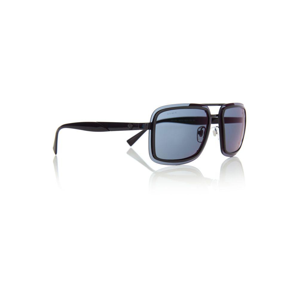 ヴェルサーチ メンズ メガネ・サングラス【Black Ve2183 Square Sunglasses】frame colour: black