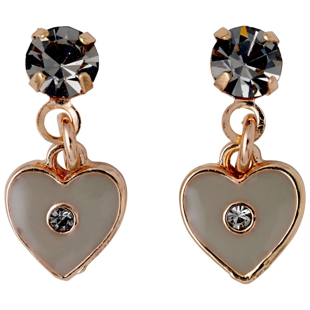ピルグリム レディース ジュエリー・アクセサリー イヤリング・ピアス【Stella Rose Gold Plated Earrings】rose gold