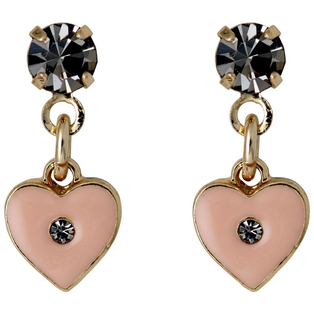 ピルグリム レディース ジュエリー・アクセサリー イヤリング・ピアス【Stella Gold Plated Nude Earrings】pink