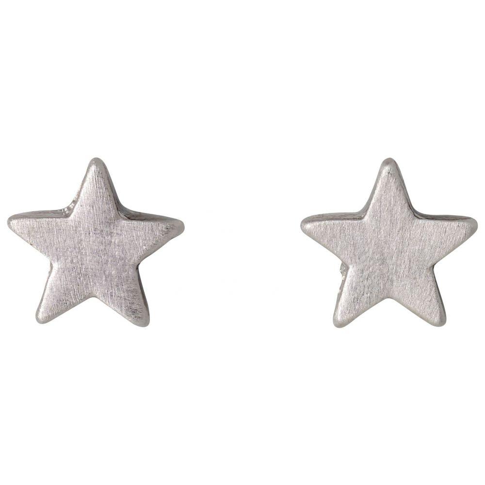 ピルグリム レディース ジュエリー・アクセサリー イヤリング・ピアス【Classic Silver Plated Earrings】grey