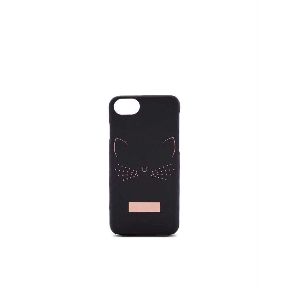 テッドベーカー Ted Baker レディース iPhone (8)ケース【Yuriko Cat Iphone 6/6s/7/8 Case】black