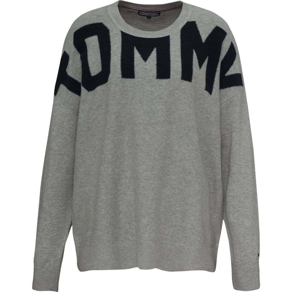 トミー ヒルフィガー Tommy Hilfiger レディース トップス ニット・セーター【Vivie Crew-neck Sweater】mid grey