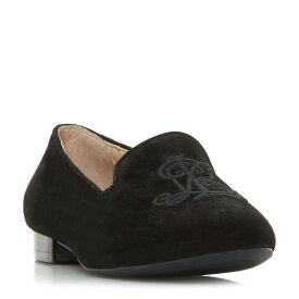 ラルフ ローレン Polo Ralph Lauren レディース シューズ・靴 ローファー・オックスフォード【Coleena Rl Embroidery Loafers】black