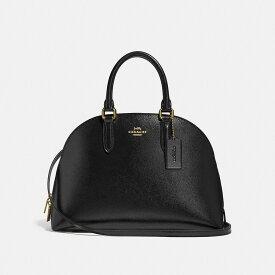 59aa6fe350c9 コーチ Coach レディース バッグ ハンドバッグ【Quinn Leather Satchel Bag】black