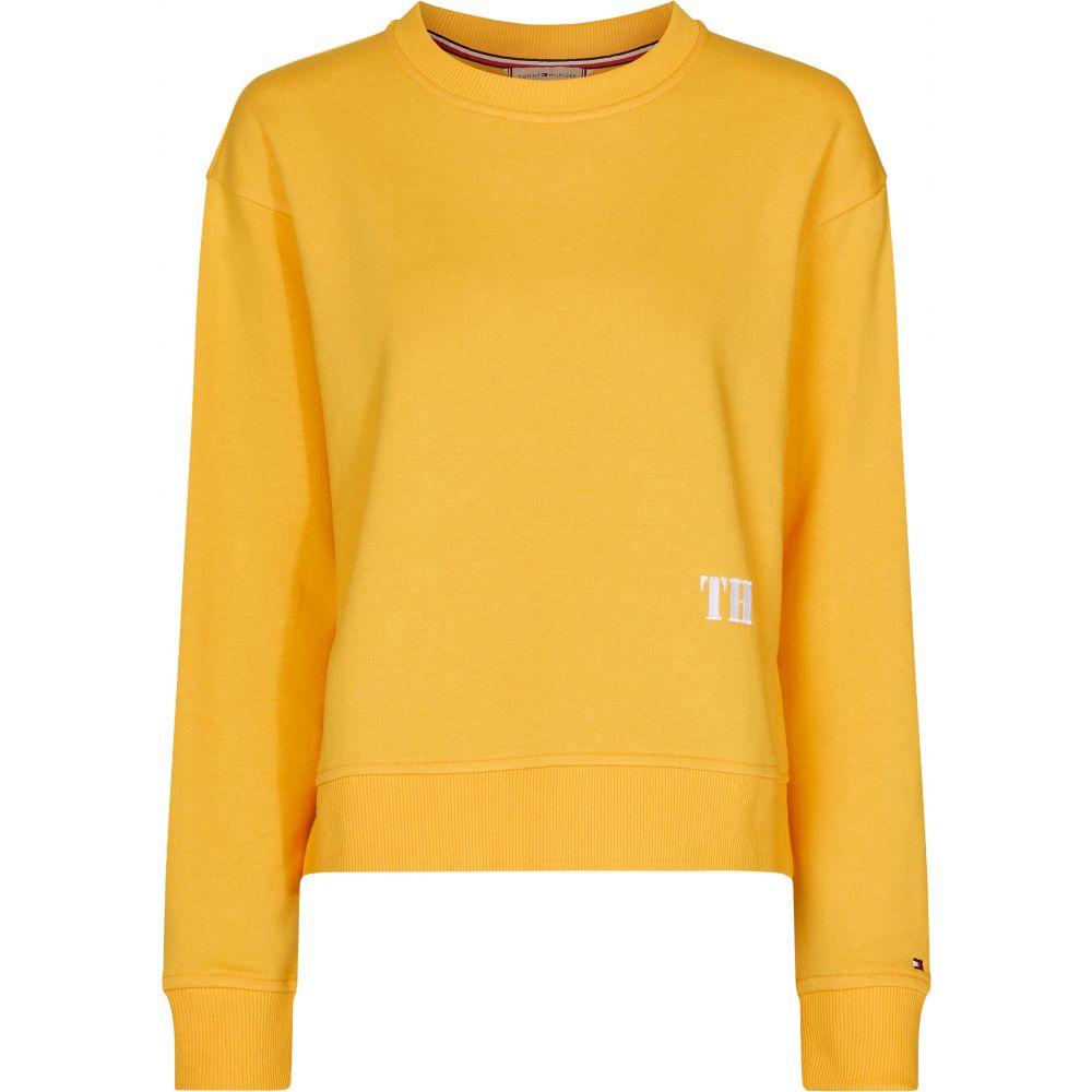 トミー ヒルフィガー Tommy Hilfiger レディース トップス スウェット・トレーナー【Louisa Sweatshirt】yellow