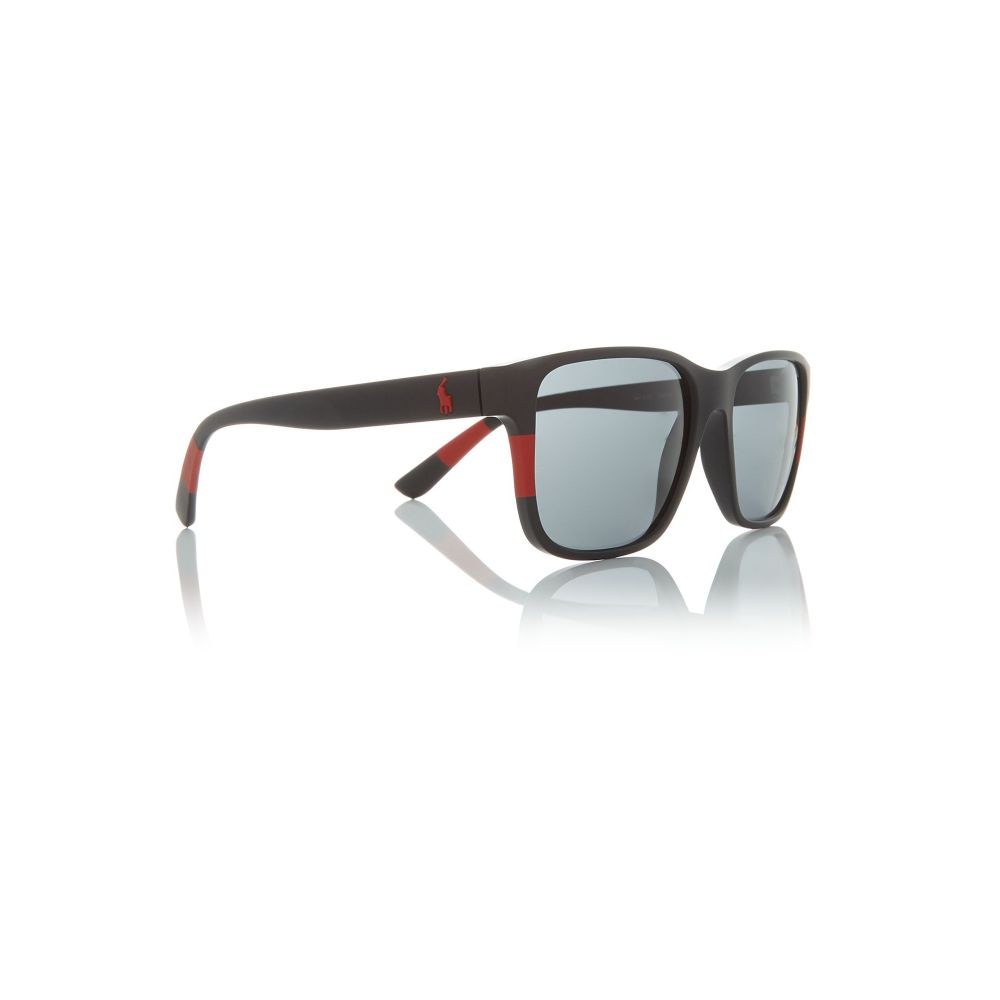 ラルフ ローレン Polo Ralph Lauren メンズ メガネ・サングラス【Black Bv8194b Pillow Sunglasses】frame colour: black