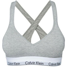 カルバンクライン Calvin Klein Underwear レディース インナー・下着 ブラレット【Modern cotton bralette lightly lined】Grey