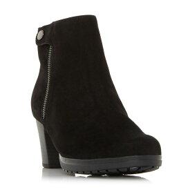 ガボール Gabor レディース シューズ・靴 ブーツ【Happiness Popper Detail Heel Boots】Black