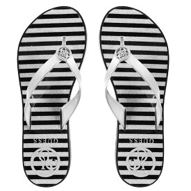 e6f3d059be ゲス Guess レディース シューズ・靴 ビーチサンダル【Enzy Flip Flop】Silver