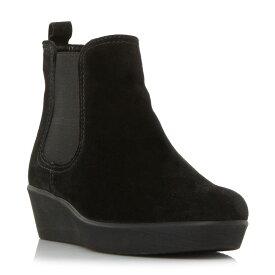 ガボール Gabor レディース シューズ・靴 ブーツ【Ghost Wedge Chelsea Boots】Jet Black