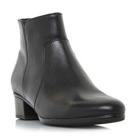 ガボール Gabor レディース シューズ・靴 ブーツ【Delaware Stitch Detail Heeled Boots】Black