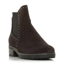 ガボール Gabor レディース シューズ・靴 ブーツ【Malibu Stud Detail Chelsea Boots】Grey