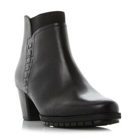 ガボール Gabor レディース シューズ・靴 ブーツ【RIBBERT STITCH DETAIL ELASTIC BOOTS】Black