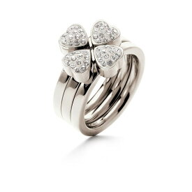 フォリフォリ Foli Follie レディース ジュエリー・アクセサリー 指輪・リング【H4H Silver And Clear Stone Ring Set】Silver