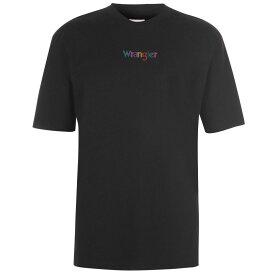 ラングラー Wrangler メンズ トップス Tシャツ【Logo T Shirt】Black