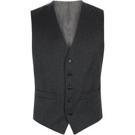 ピエール カルダン Pierre Cardin メンズ トップス ベスト・ジレ【Twill waistcoat】Charcoal