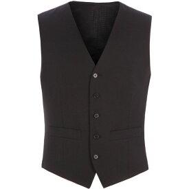 ピエール カルダン Pierre Cardin メンズ トップス ベスト・ジレ【Philip Black Twill Performance Vest】Black