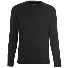 ラングラー Wrangler メンズ トップス 長袖Tシャツ【Long Sleeve Logo T Shirt】Black