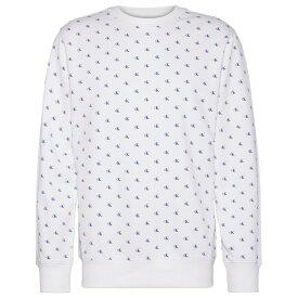 カルバンクライン Calvin Klein Jeans メンズ トップス スウェット・トレーナー【Mono AOP Crew Sweatshirt】CK AOP