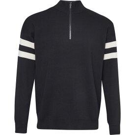 フレンチコネクション French Connection メンズ トップス ニット・セーター【Lakra Knit Quarter Zip Jumper】Black & White