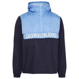 カルバンクライン Calvin Klein Jeans メンズ アウター レインコート【Colour Block Rain Jacket】Night Sky