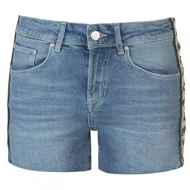 カッパ Kappa レディース ボトムス・パンツ ショートパンツ【Brizida Shorts】Blue/Beige