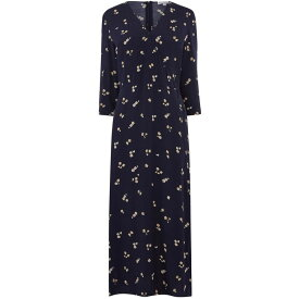 ウェアハウス Warehouse レディース ワンピース・ドレス ワンピース【Verity Ditsy Floral Midi Dress】Navy