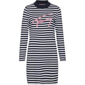 トミー ヒルフィガー Tommy Hilfiger レディース ワンピース・ドレス ワンピース【Tommy Jeans Stripe Dress】Navy