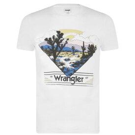 ラングラー Wrangler メンズ トップス Tシャツ【Out West T Shirt】White