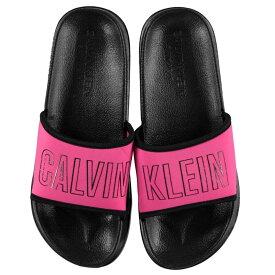 カルバンクライン Calvin Klein レディース シューズ・靴 サンダル・ミュール【CK IntsePwr Slide Pk】BEETROOT PURPLE