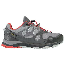 ジャックウルフスキン Jack Wolfskin レディース ランニング・ウォーキング シューズ・靴【Excite Texapore Low Trail Running Shoes】Grey