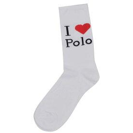 ラルフ ローレン Polo Ralph Lauren Bodywear レディース ソックス インナー・下着【PL I Love Polo Ank】White