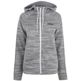 アディダス adidas レディース パーカー トップス【XPR Zip Hoodie】Med Grey