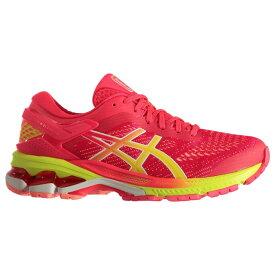 アシックス Asics レディース ランニング・ウォーキング シューズ・靴【GEL Kayano 26 Running Shoes】Pink/Yellow