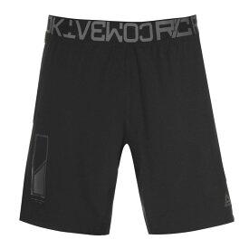 リーボック Reebok メンズ ショートパンツ ボトムス・パンツ【Combat Shorts】Black