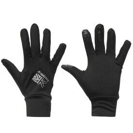 カリマー Karrimor レディース 手袋・グローブ 【Liner Glove】Black