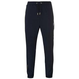 クライフ Cruyff メンズ ランニング・ウォーキング ボトムス・パンツ【Tactic Jogging Pants】Black/Gold