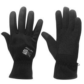カリマー Karrimor メンズ 手袋・グローブ 【Fleece GloveSn01】Black