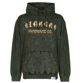 ダイアモンドサプライ Diamond Supply Co. メンズ パーカー トップス【Skull OTH Hoodie】Green