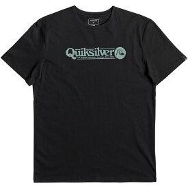 クイックシルバー Quicksilver メンズ Tシャツ トップス【Art Tickle T-Shirt】Black