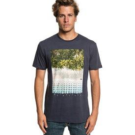 クイックシルバー Quicksilver メンズ Tシャツ トップス【Perth Or Bust T-Shirt】Midnight Blue