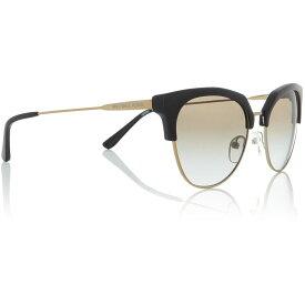マイケル コース Michael Kors レディース メガネ・サングラス 【Black Mk1033 Irregular Sunglasses】Black