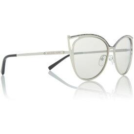 マイケル コース Michael Kors レディース メガネ・サングラス 【Silver MK1020 Ina Cat Eye Sunglasses】Silver