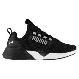 プーマ Puma レディース ランニング・ウォーキング シューズ・靴【Retaliate Running Shoes】Black/White