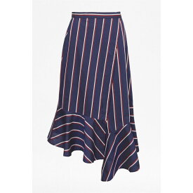 フレンチコネクション French Connection レディース スカート 【Ceola Cotton Wrapover Skirt】Utility Blue