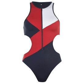 トミー ヒルフィガー Tommy Bodywear レディース ワンピース 水着・ビーチウェア【Cheeky Swimsuit】NAVY BLAZER