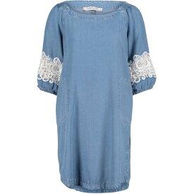 ベティー バークレイ Betty Barclay レディース ワンピース シフトドレス ワンピース・ドレス【Lyocell Shift Dress】Light Blue