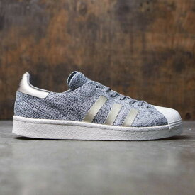 アディダス メンズ シューズ・靴 スニーカー【Adidas Superstar Boost Primeknit - Noble Metal】gray / solid grey