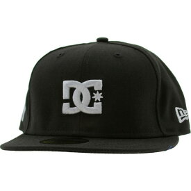 ディーシー DC Shoes メンズ キャップ 帽子【DC The Streets New Era Fitted Cap - New York】black