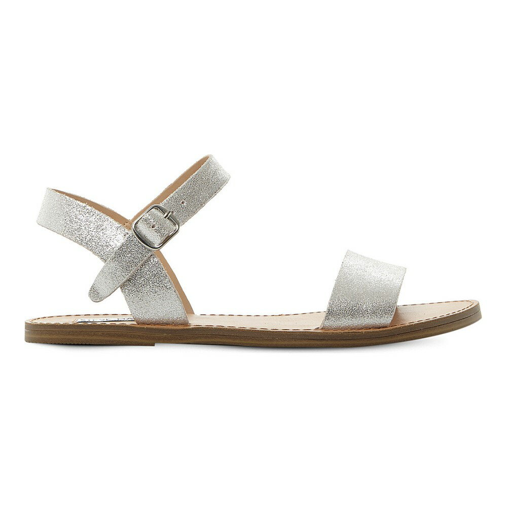 スティーブ マデン steve madden レディース シューズ・靴 サンダル【kondi two-part sandals】Silver-leather